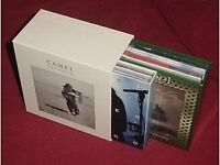 CAMEL ANDY LATIMER PROG ROCK 13HDCD DELUXE JAPANESE MINI LP BOXSET. IMMACULATE.