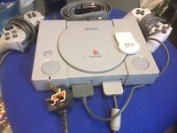 Original Sony Playstation and controllers
