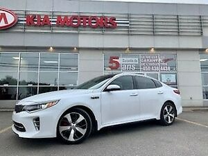 2016 Kia Optima 2016**SX Turbo**CUIR**TOIT PANO**GPS**