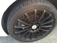 "17"" 5x100 5x110 7"" wide calibra alloys Audi vw seat skoda"
