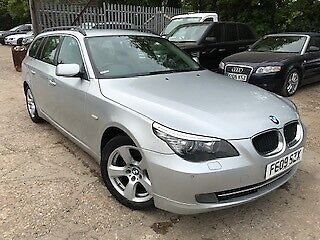09 BMW 520D 2.0 SE TOURING - 1F/OWNER, ALLOYS, AIRCON LEATHER, ISOFIX, 6 SERVICE
