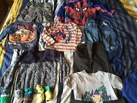 Boys Bundle of Clothes 3-5 Years Old - £9 the Lot - see pic's including Boys Coat