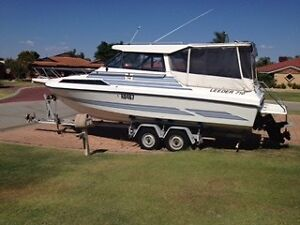 LEEDER 710 HARDTOP DELUXE - GREAT FAMILY FISHING AND OVERNIGHTER Thornlie Gosnells Area Preview