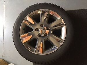 Snow Tires mounted on Alloy Rims - Journey - 19 inch