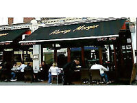 Waiters/waitresses needed for trendy St Johns Wood Restaurant