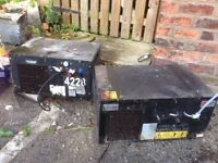 FREE METAL ITEMS TWO CHILLER UNITS