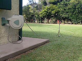 Automatic Retractable Garden Hose Reels eBay
