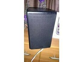 denon sc-m37 book shelf speakers in black