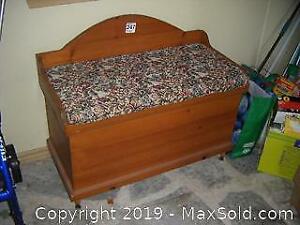 Pine Blanket Box B