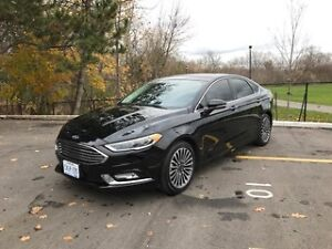 Fully loaded Ford Fusion 2017