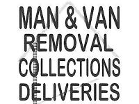 MAN & VAN CHEAPEST QUOTES GIVEN ANY REMOVALS ETC POLITE,RELIABLE CUSTOMER SERVICE