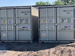 Storage available for rent in new shipping containers!