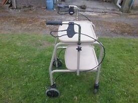 4 Wheeled walker/trolley