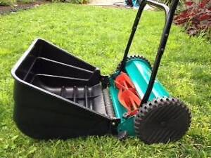 Bosch AHM 38G hand Lawn Mower - as new Sandy Bay Hobart City Preview