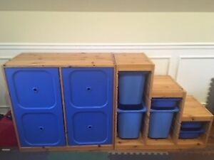 armoire de rangement pour enfant