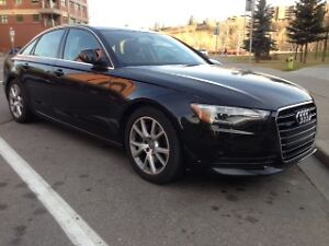 REDUCED!! 2014 black Audi A6 Quattro