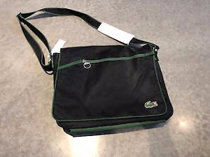 7f0853fb6 Lacoste messenger bag--luxury at a bargain price!