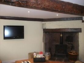 2 Bedroom Semi- Detached Character Cottage Nr Beach in Kilve Somerset CH Wood Burner Parking £750