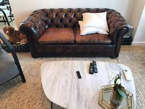 Chesterfield Lounge 2 Seater, Restored in 2016 Bronte Eastern Suburbs Preview