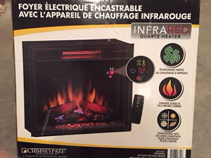 ELECTRIC FIREPLACE & HEARTH