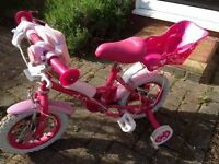 Chid's Appolo Sweetie Bike suit age 3 - 5