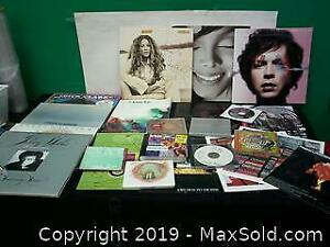 Variety of albums, music books, cd, etc