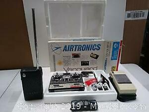 Airplane remote and 2 cb radios one sound amplifier