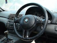 BMW COMPACT e46 320td steering wheel leather