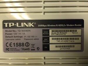 TP Link router/modem