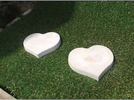 Stepping stones (small heart shaped)