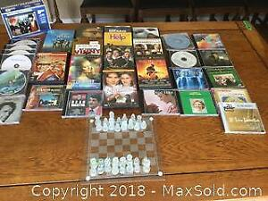 Collection Of CD Movies And Music B