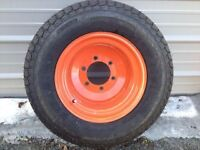 WANTED 24X8.5-14 ON RIMS OR 24X8.5-12 FOR KUBOTA B2150