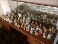 COLLECTION OF OVER 50 CHERISHED TEDDIES