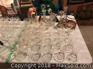 Crystal Glasses, Decanter and More A