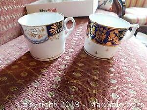 Antique China Coffee Cups A
