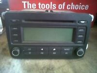 vw golf mk5 cd player for sale or fitted call for any info