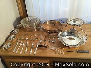 Sterling Silver And Silver Plate