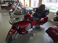 Honda Goldwing GL1500 Loaded Safetied Condition Lots of Chrome