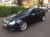 MERCEDES C180 KOMPRESSOR AUTO COUPE 2007****IMMACULATE CONDITION & EXCELLENT DRIVE