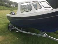 2004 orkney 520 fishing boat