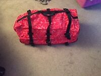 Excellent Condition Roxy/ Quiksilver Pink/ Red Hibiscus Floral Holdall