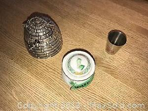 Godinger Honey Pot And More- A