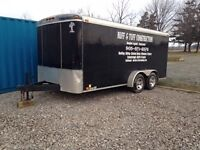 16 ft enclosed trailer