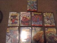 Bundle of kids Marvel DVD's