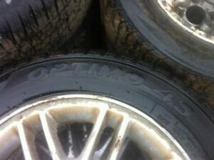 tires-Hankook 195/60r15 88H  75% tread