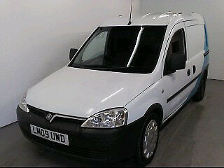 2009 Vauxhall Combo 1.7CDti Crew Van for Auction