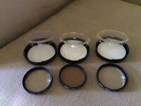 3 Hoya camera lenses