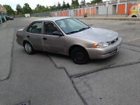 1998 Toyota Corolla Sedan!! AS IS/DRIVES GREAT/ONE OWNER