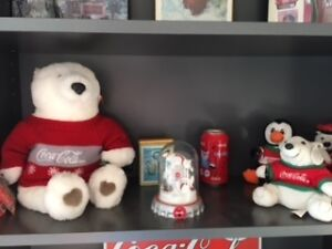 Coca Cola Polar bear collection