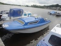 Pacific 550 Cabin Cruiser Honda 9.9 Outboard Engine (Trailer Included)